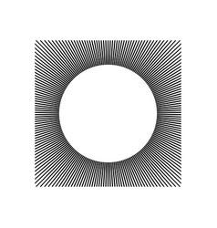 Geometric shape for design vector