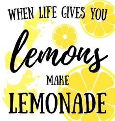 Lemons vector