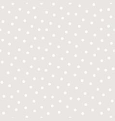 Polka dot seamless pattern subtle texture vector