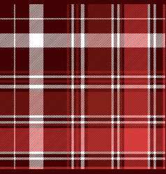 red diagonal abstract plaid seamless pattern vector image
