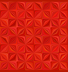 red geometric stripe tile mosaic pattern vector image