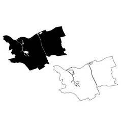S-hertogenbosch city kingdom netherlands vector