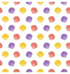 Shell Flat pattern vector