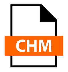 file name extension chm type vector image