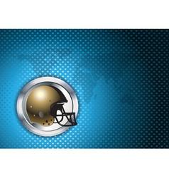 af helmet in the ring vector image