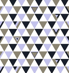 Norway Top Colors Background Triangle Polygon vector image vector image