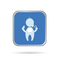 baby color vector image vector image