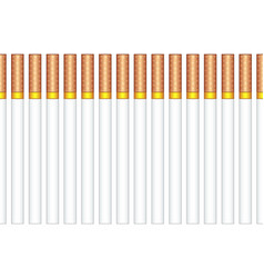Cigarettes pattern vector
