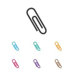 of teach symbol on clip icon vector image