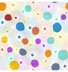 seamless colourful pattern vector image