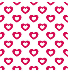 valentines day background love theme seamless vector image