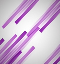 Abstract background with purple straight lines vector image
