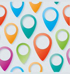 map pointers walpaper vector image
