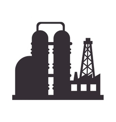plant oil industry vector image