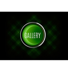 Gallery Button vector image
