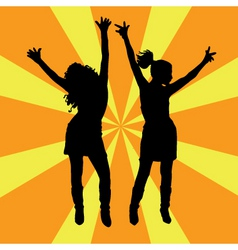 everybody dance vector image