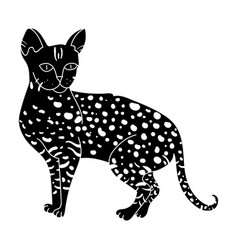 savannah icon in black style isolated on white vector image vector image