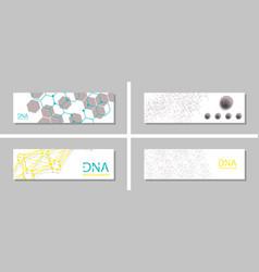 Genetics testing science dna double spiral vector