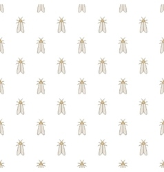 Moth pattern cartoon style vector