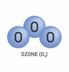 O3 ozone formula vector