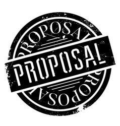 Proposal rubber stamp vector