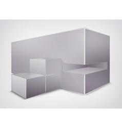 Blank creativity construction square vector image