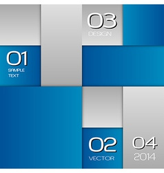 business squares blue full page with text vector image vector image