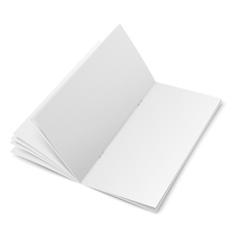 Multipage brochure template on white background vector image vector image