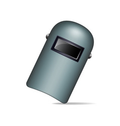 protective welding mask vector image