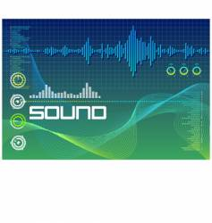 sound lab vector image vector image