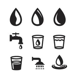 black water vector image vector image