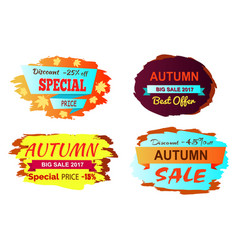 discount 25 off special price vector image vector image