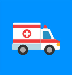 ambulance icon first aid vector image