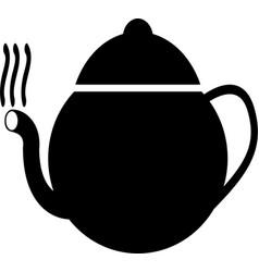 black tea icon symbol vector image