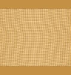 burlap fabric seamless vector image