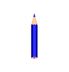 dark blue wooden pencil vector image