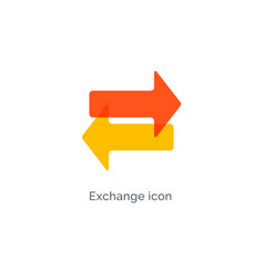 Exchange arrow icon reverse swap switch vector