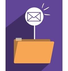 file archive icon symbol design vector image