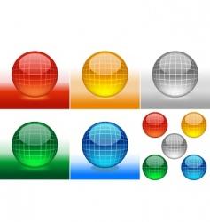 Glossy sphere vector