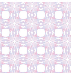 Guilloche pink seamless pattern color vector