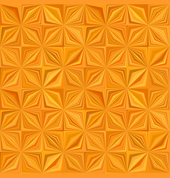 orange geometric stripe tile mosaic pattern vector image