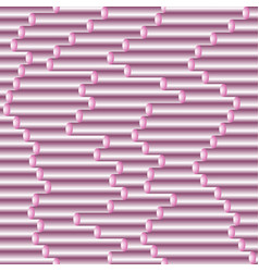 seamless gradient tubing pink pattern vector image