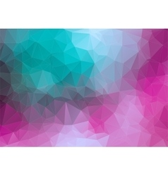 Tial pink 2D geometric colorful background vector image