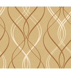 Abstract geometric wavy line pattern vector image vector image