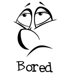 Expression words for bored vector