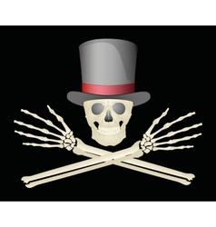 Jolly Roger vector image