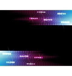 Disco lights background vector image