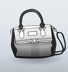 Fancy handbag vector