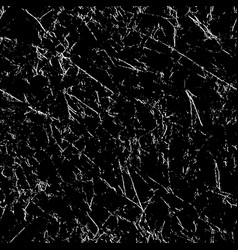 grunge seamless repeating pattern white on black vector image