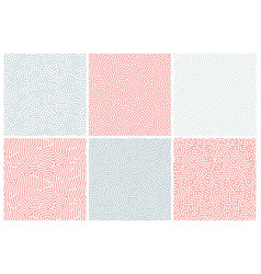 Organic background in bleached red and blue vector